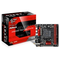Asrock Fatal1ty Ab350 Gaming-itx/ac Amd Socket Am4 Ryzen Mini-itx Ddr4 Hdmi Ultra M.2 Usb 3.0 Motherboard Ab350 Gaming-itx/ac - Tgt01