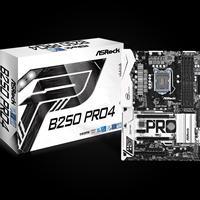 Asrock B250 Pro4 Intel Socket 1151 Kaby Lake Atx Ddr4 D-sub/dvi-d/hdmi M.2 Usb 3.0/type-c Motherboard 90-mxb3s0-a0uayz - Tgt01