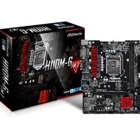 ASRockl H110M-G/M.2 Intel Socket 1151 Kaby Lake Micro ATX DDR4 D-Sub/DVI-D/HDMI M.2 USB 3.0 Motherboard
