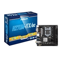 ASRock H270M-ITX/ac Intel Socket 1151 Kaby Lake Mini-ITX DDR4 DVI-D/HDMI Ultra M.2 USB 3.0 Motherboard