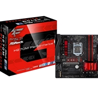 ASRock Fatal1ty H270M Performance Intel Socket 1151 Kaby Lake Micro ATX DDR4 D-Sub/DVI-D/HDMI Ultra M.2 USB 2.0/Type-C Motherboard