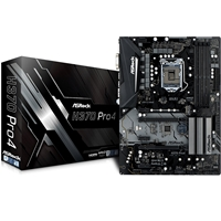 ASRock H370 Pro4 Intel Socket 1151 Coffee Lake ATX DDR4 D-Sub/DVI-D/HDMI M.2 USB 3.1 Type-C Motherboard