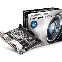 Asrock H81m-itx Intel Socket 1150 Mitx Vga/dvi-d/hdmi Usb 3.0 Motherboard H81m-itx - Tgt01
