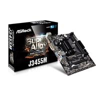 ASRock J3455M Embedded Intel CPU Quad Core J3455 2.3GHz Micro ATX DDR3/DDR3L DIMM D-Sub/DVI-D/HDMI USB 3.0 Motherboard