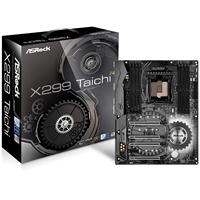 Asrock X299 Taichi Intel Socket 2066 Skylake X / Basin Falls Atx Ddr4 Ultra M.2 Usb 3.0/usb 3.1/type-c Motherboard 90-mxb5c0-a0uayz - Tgt01