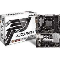 ASRock X370 Pro4 AMD Socket AM4 Ryzen ATX DDR4 D-Sub/DVI-D/HDMI Ultra M.2 USB 3.1 Type-C Motherboard