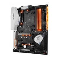 Gigabyte Aorus GA-AX370-GAMING 5 (rev. 1.0) AMD Socket AM4 Ryzen ATX DDR4 HDMI M.2/U.2 USB 3.1/Type-C Motherboard