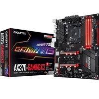 Gigabyte GA-AX370-Gaming K3 (rev. 1.0) AMD Socket AM4 Ryzen ATX DDR4 HDMI M.2 USB 3.1 Motherboard