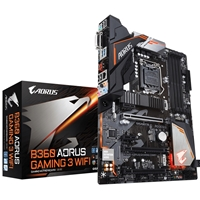 Gigabyte Aorus B360 AORUS GAMING 3 WIFI Intel Socket 1151 Coffee Lake ATX DDR4 DVI-D/HDMI M.2 USB 3.1 Type-C Motherboard