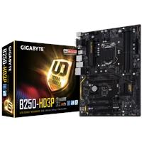 Gigabyte GA-B250-HD3P Intel Socket 1151 Kaby Lake ATX DDR4 D-Sub/DVI-D/HDMI M.2 USB 3.1/Type-C Motherboard