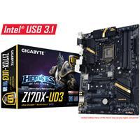 Gigabyte GA-Z170X-UD3 Intel Socket 1151 ATX DDR4 D-Sub/DVI-D/HDMI M.2 USB 3.0/3.1 Motherboard
