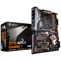 Gigabyte Aorus Z370 Aorus Gaming 7 Intel Socket 1151 Coffee Lake ATX DDR4 HDMI/DisplayPort M.2 USB 3.1 Motherboard