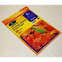 Sumvision A4 230gsm (25 Pack) Glossy Photo Paper A4 230g 25p - Tgt01