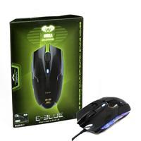 E-blue Ems108 Cobra Advanced Black Usb Wired Gaming Full Size Optical Mouse Ems108bk - Tgt01