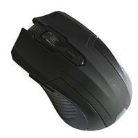 Evo Labs E-420 Black Wireless Full Size Optical Mouse