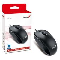 Genius DX-110 Black USB Full Size Optical Mouse