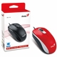 Genius DX-110 Red USB Full Size Optical Mouse