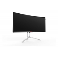 "AOC AG352QCX 35"" LED Cureved UltraWide D-Sub/DVI/HDMI/DisplayPort Gaming Monitor"