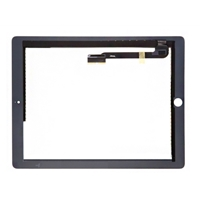 iPad 4 Compatible Touch Screen Assembly Kit Black OEM Original with Flex and Adhesive
