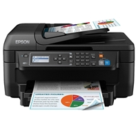 Epson Workforce Wf-2630wf Colour Wireless All-in-one Inkjet Printer C11ce36401 - Tgt01