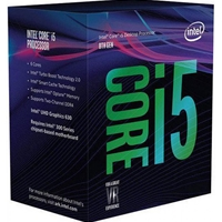 Intel i5 8600K Coffee Lake 3.6GHz Six Core 1151 Socket Overclockable Processor