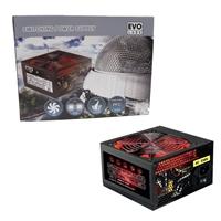 Evo Labs BR750-12R 750w ATX 12cm Red Fan Silent PSU