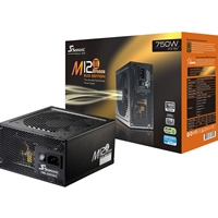 Seasonic M12ii-750 Evo 750w Atx 120mm Fan 80 Plus Bronze Fully Modular Psu Ss-750am2 - Tgt01