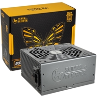 Superflower Leadex Gold Sf-550f14mg(sluk) 550w Atx 13.5cm Fan Modular 80 Plus Gold Gunmetal Psu Sf-550f14mg(sluk) - Tgt01