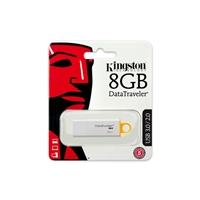 Kingston DataTraveler G4 8GB USB 3.0 Yellow USB Flash Drive