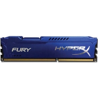 Kingston HyperX 8GB FURY Blue Heatsink (2 x 4GB) DDR3 1600MHz DIMM System Memory