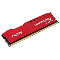 Kingston HyperX 4GB FURY Red Heatsink (1 x 4GB) DDR3 1600MHz DIMM System Memory