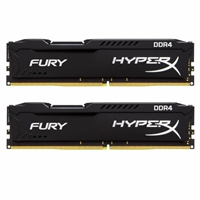 Kingston HyperX 8GB FURY Black Heatsink (2 x 4GB) DDR4 2133MHz DIMM System Memory