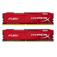 Kingston HyperX 16GB FURY Red Heatsink (2 x 8GB) DDR4 2133MHz DIMM System Memory