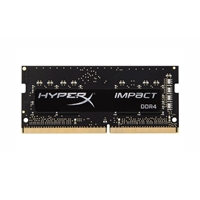 Kingston HyperX 8GB IMPACT Black Heatsink (1 x 8GB) DDR4 2400MHz SODIMM System Memory