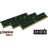 Kingston ValueRAM 12GB No Heatsink (3 x 4GB) DDR3 1866MHz ECC DIMM Server memory