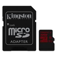 Kingston 32GB Micro SDHC/SDXC Class U3 Flash Card with Adapter