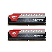 Patriot Viper Elite Series 16GB Black & Red Heatsink (2 x 8GB) DDR4 2400MHz DIMM System Memory