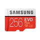 Samsung EVO Plus 256GB Micro SDXC Class 10 Flash Card with Adapt