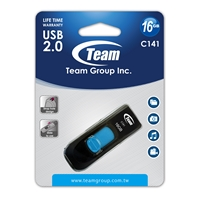 Team C141 16GB USB 2.0 Blue USB Flash Drive