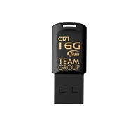 Team C171 16GB USB 2.0 Black USB Flash Drive