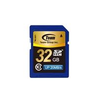 Team 32gb Full Sdhc Class 10 Flash Card Tsdhc32gcl1001 - Tgt01
