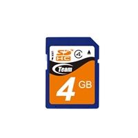 Team 4GB SDHC Class 4 Flash Card