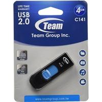 Team C141 4GB USB 2.0 Blue USB Flash Drive