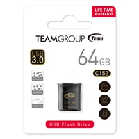 Team Color Series C152 64GB USB 3.0 Black USB Flash Drive
