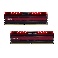 Team DELTA 32GB Breathing LED Heatsink (2 x 16GB) DDR4 2400MHz DIMM System Memory