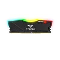Team DELTA RGB 8GB Black Heatsink with RGB LEDs (1 x 8GB) DDR4 2400MHz DIMM System Memory