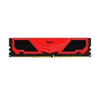 Team ELITE+ 4GB Red Heatsink (1 x 4GB) DDR4 2133MHz DIMM System Memory