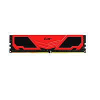 Team ELITE+ 4GB Red Heatsink (1 x 4GB) DDR4 2400MHz DIMM System Memory