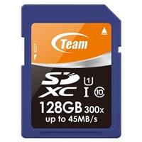 Team 128GB Full SDXC UHS-1 Flash Card