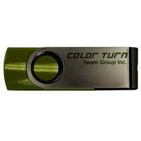 Team Turn 16GB USB 2.0 Green USB Flash Drive
